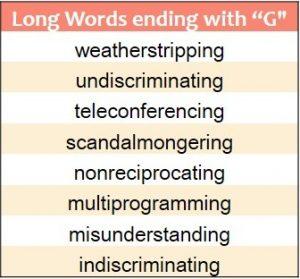Ending G