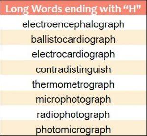 Ending H